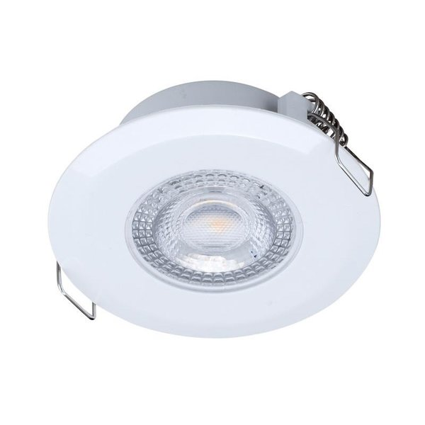 LED inbouwspot wit - Waterdicht IP44 - 3W vervangt 25W - 3000K warm wit licht