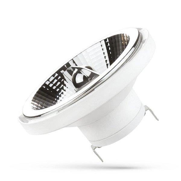 LED G53 AR111 - 15W vervangt 100W - 12V 4000K helder wit licht