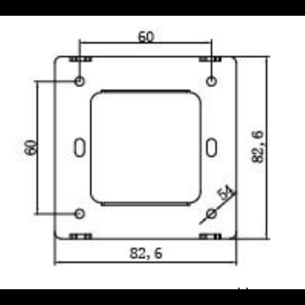 1-10V inbouwdimmer 1200W voor LED panelen