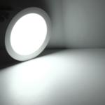 LED inbouwspot vierkant - 18W vervangt 150W - inbouwmaat 200x200mm - 6000K daglicht wit