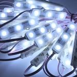 Samsung LED modules 10 stuks - 12V IP68 - 6050K Koud wit licht - 0,72W per module