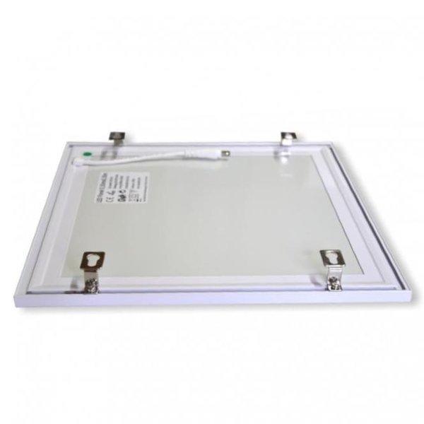 LED paneel opbouw montagebeugels - Bevestiging zonder opbouw frame