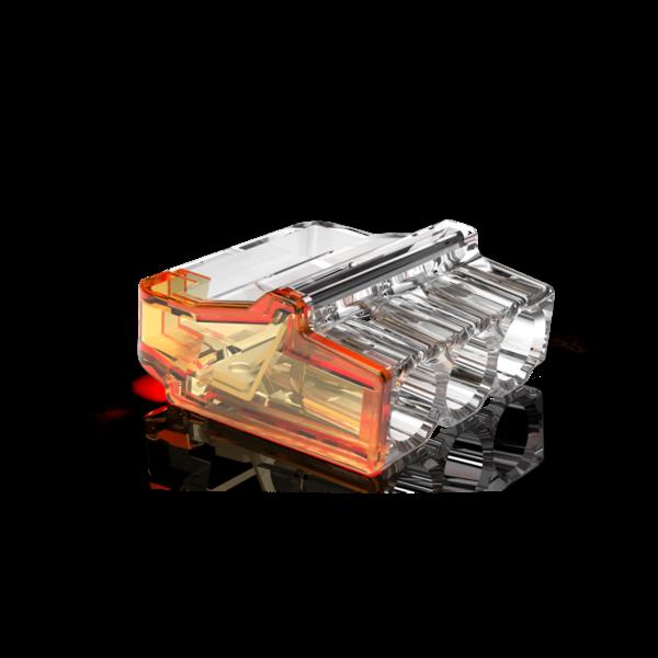Conex 50 stuks Conex Lasklem mini - 3 voudig 0.5-2.5mm² - voor massief draad