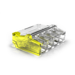 Conex 50 stuks Conex Lasklem mini - 4 voudig 0.5-2.5mm² - voor massief draad - CH2004M