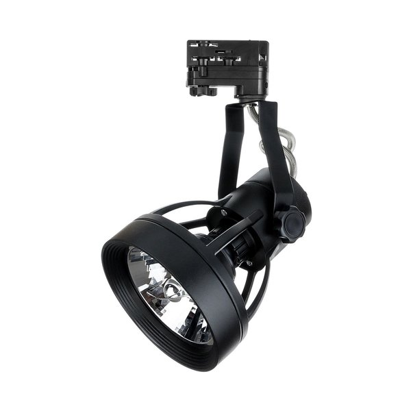 Spectrum LED Railspot Zwart Tracklight - Universeel 3-Phase - Verwisselbare PAR20 / ES111 LED lamp