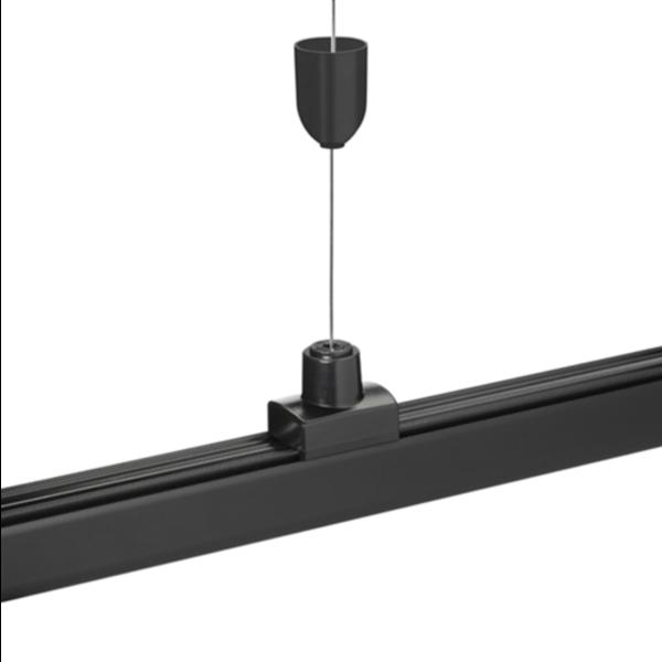LCB LED railspot ophang systeem - 1 x 8 meter stalen draad incl. bevestigingsmateriaal