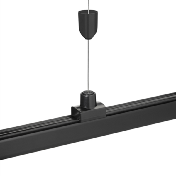 LED railspot ophang systeem - 1 x 8 meter stalen draad incl. bevestigingsmateriaal