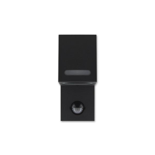 LED Wandlamp met bewegingssensor - GU10 fitting - IP44 - Geschikt voor 1 GU10 spot