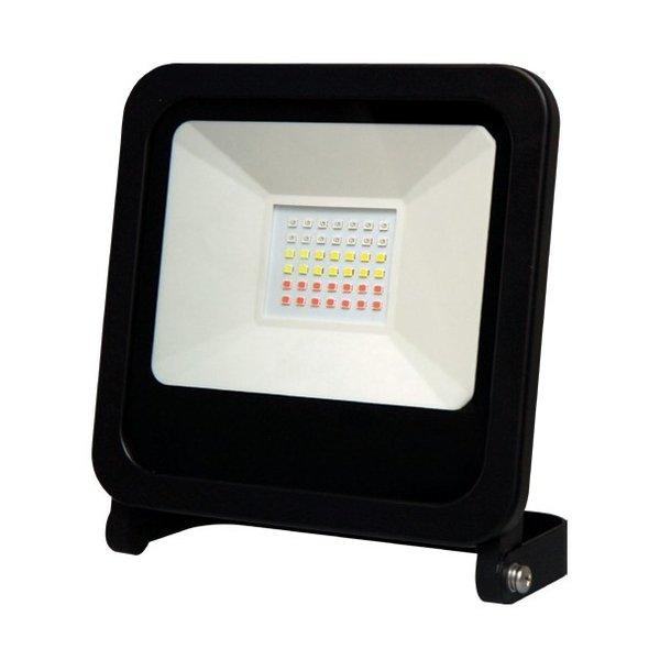 RGB LED Schijnwerper 50W - IP65 spatwaterdicht - Bediening via Tuya app