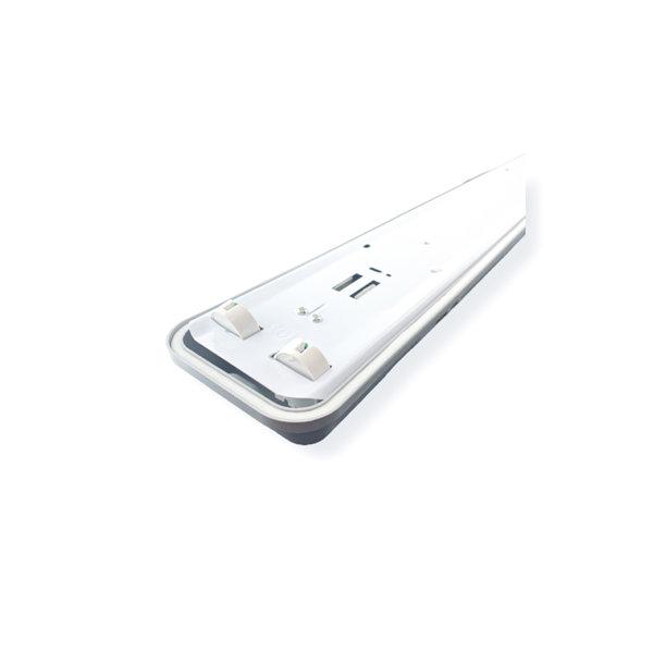 Aigostar LED TL buis armatuur - 120cm - Waterdicht IP65 - voor dubbele LED TL buis