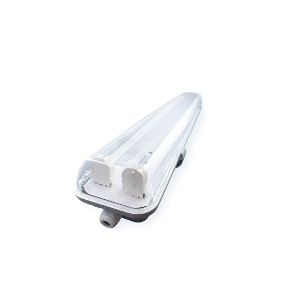 Aigostar LED TL buis armatuur - 150cm - Waterdicht IP65 - voor dubbele LED TL buis