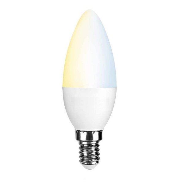 WiFi LED kaarsLamp - E14 5W - 2700K-6500K - Bediening met de App