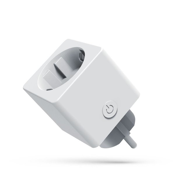 Slimme WiFi stekker met stroommeter 230V - Google Home en Alexa compatible - Smart plug
