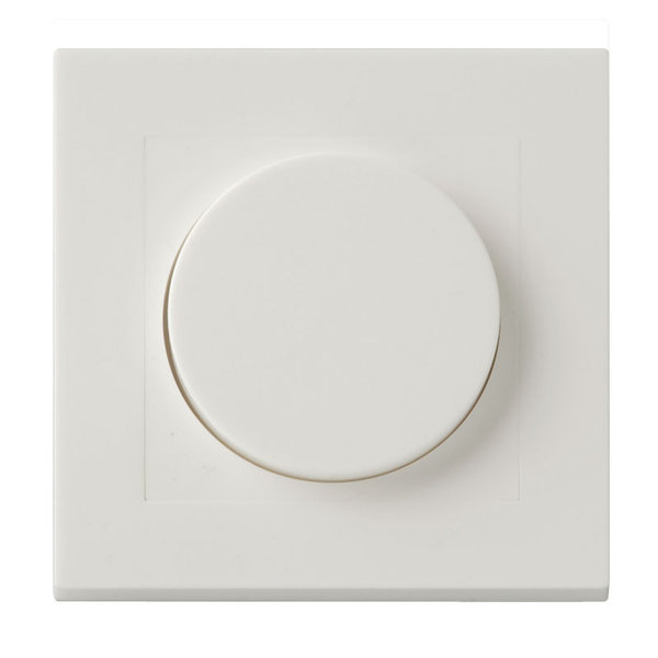 LED Dimmer afdekraam / afdekplaat Modern - 84x84mm