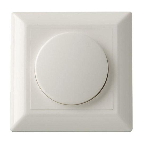 LED Dimmer afdekraam / afdekplaat Klassiek - 84x84mm