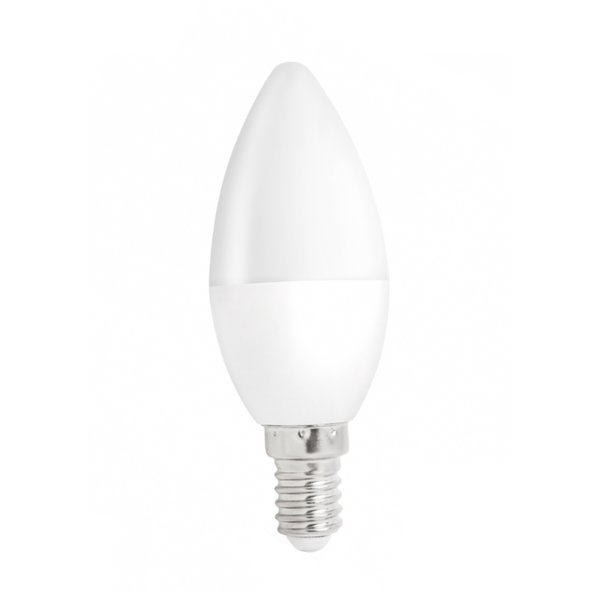 LED kaarslamp - E14 fitting - 1W vervangt 10W - 3000K Warm wit licht