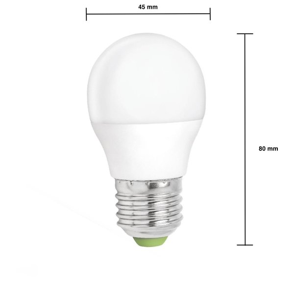 LED lamp dimbaar - E27 fitting - 6W vervangt 40W - Daglicht 6000K