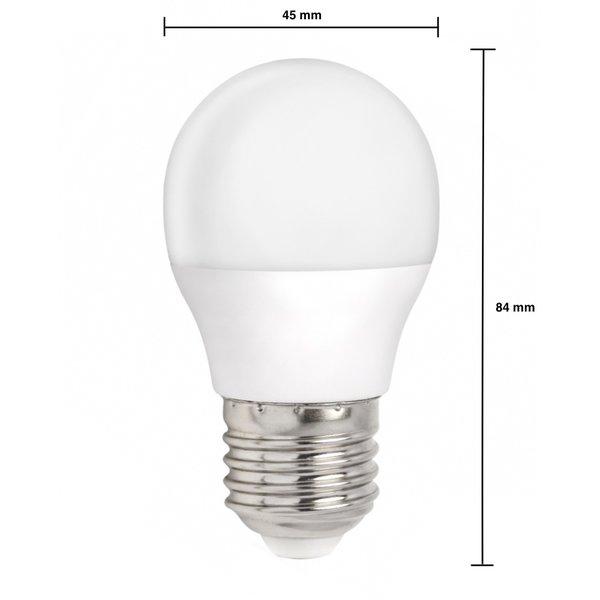 LED lamp - E27 fitting - 6W vervangt 50W - Helder wit licht 4000K