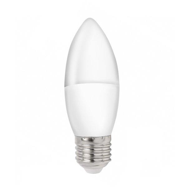 LED kaarslamp - E27 fitting - 3W vervangt 25W - 3000k warm wit licht