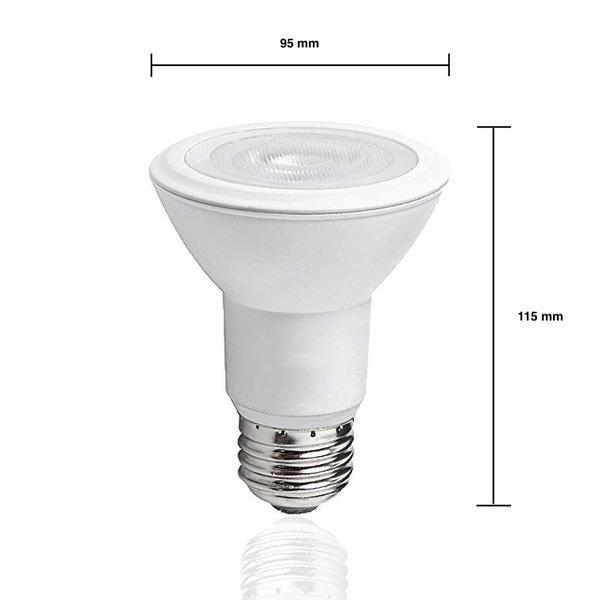 LED lamp - E27 PAR30 - 12W vervangt 66W - Daglicht wit 6500K