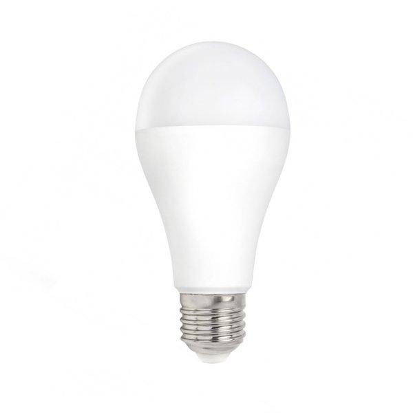 LED lamp - E27 fitting - 18W vervangt 180W - Warm wit licht 3000K