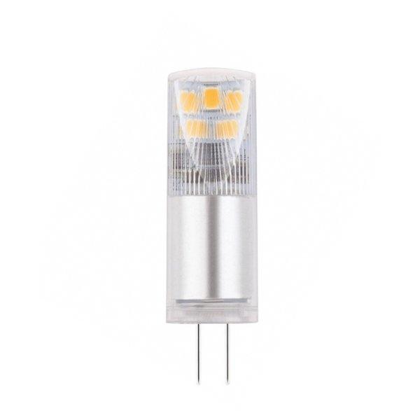 LED G4 - 2,5W vervangt 25W - 3000K warm wit licht - 13x45mm - 5 jaar garantie