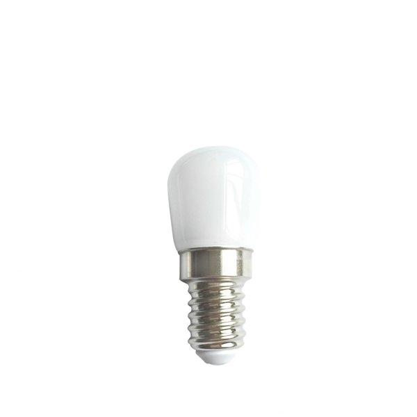 LED koelkast lamp - E14 fitting - 2W vervangt 12W - Daglicht wit 6500K - 23*55mm
