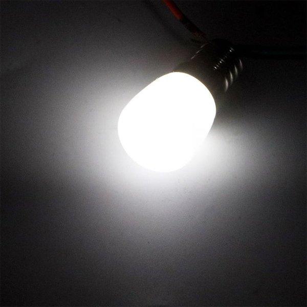 Voordeelpak 10 stuks - E14 LED lampen - Type T26 - 2W vervangt 14W - Lichtkleur optioneel