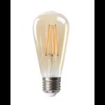 LED Filament lamp - Tall - dimbaar - E27 fitting - 6W vervangt 60W - 2200K extra warm wit licht