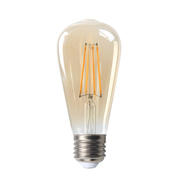 LED filament lamp - Tall - dimbaar - E27 fitting - 4W vervangt 40W - 2200K extra warm wit licht