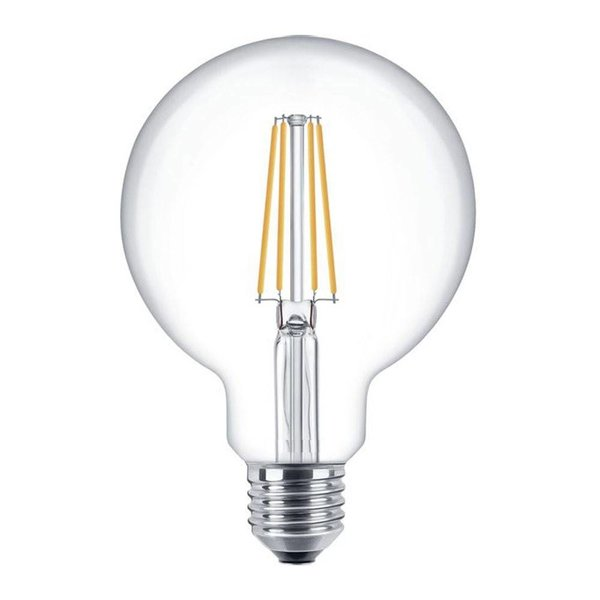 LED Filament lamp dimbaar - XL GLOBE - E27 fitting - 6W vervangt 60W - 2700K warm wit licht