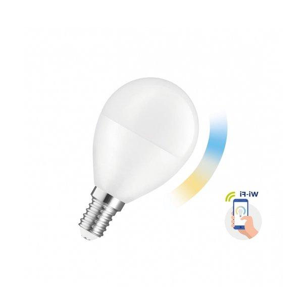 WiFi LED Lamp - E14 5W - 2700K - 6500K - Bediening met de App