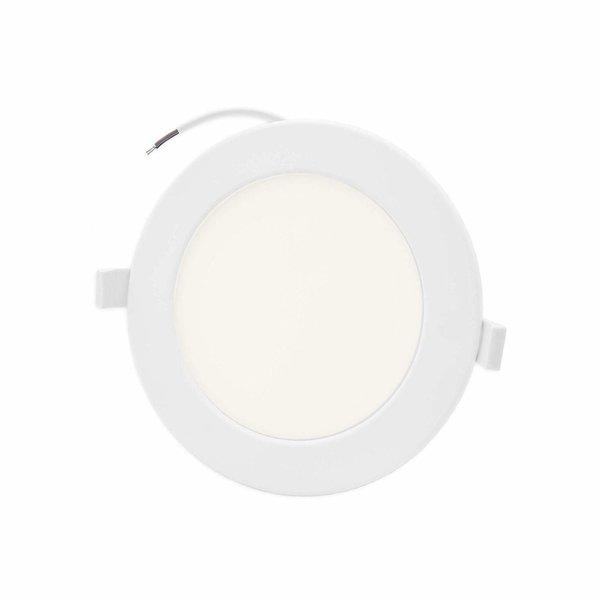 LED inbouwspot rond - 6W vervangt 40W - inbouwmaat 100x32mm - 4000K helder wit licht