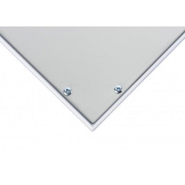 LED paneel 60x60cm - 3000K 830 - 40W - 3600lm - Flikkervrij - 5 jaar garantie