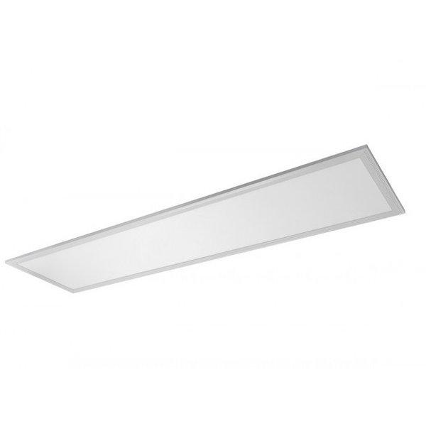 ACTIE! LED paneel 120x30cm - Zilveren rand - 6000K 865 - 40W 3600lm - Flikkervrij - 5 jaar garantie