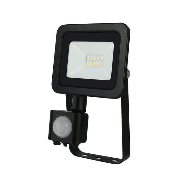 Actie! LED schijnwerper met sensor - 10W IP44 - Lichtkleur optioneel - 3 jaar garantie