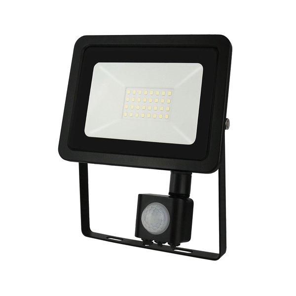 Actie! LED schijnwerper met sensor - 20W IP44 - Lichtkleur optioneel - 3 jaar garantie