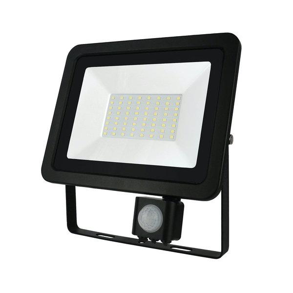 Actie! LED schijnwerper met sensor - 50W IP44 - Lichtkleur optioneel - 3 jaar garantie