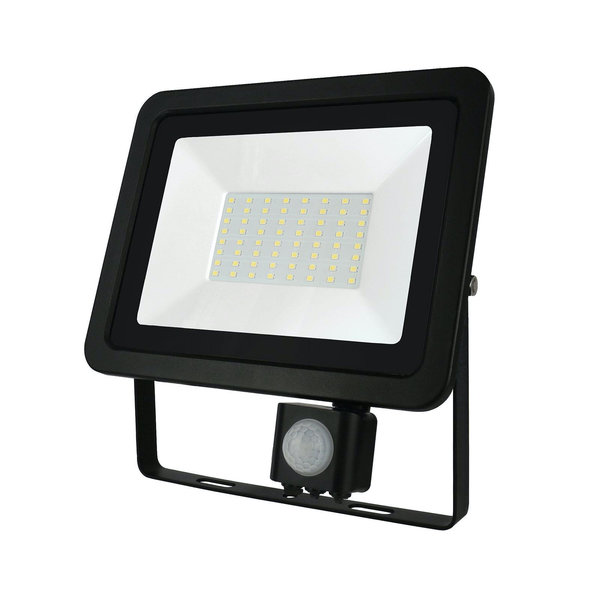 Spectrum Actie! LED schijnwerper met sensor - 50W IP44 - Lichtkleur optioneel - 3 jaar garantie