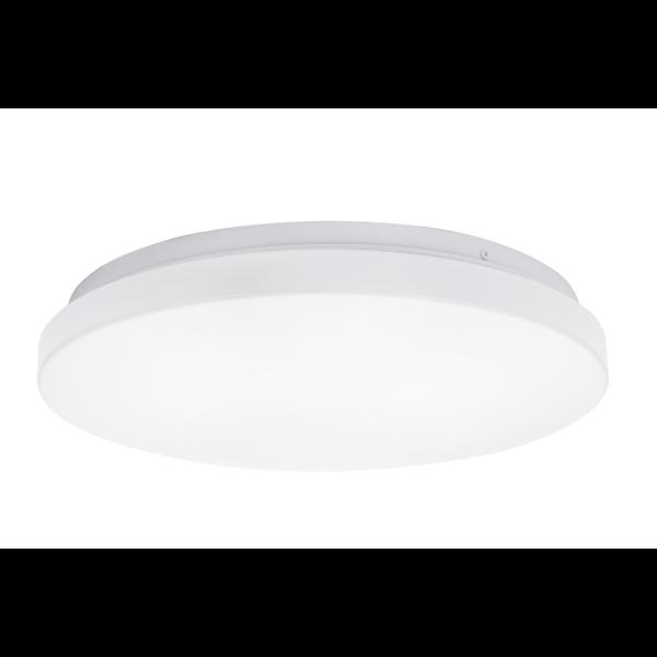 LED Witte plafondlamp rond- 24W vervangt 104W - 3000k warm wit licht - 380x60mm