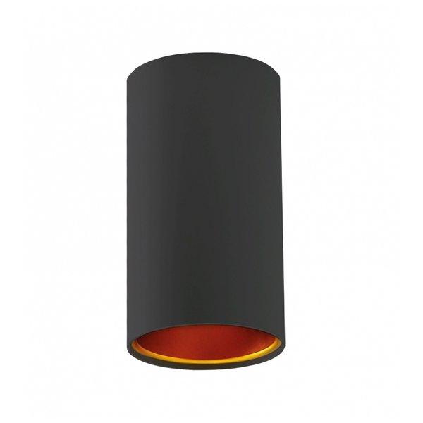 LED plafondspot Chloe - Mat zwart goud - GU10 aansluiting
