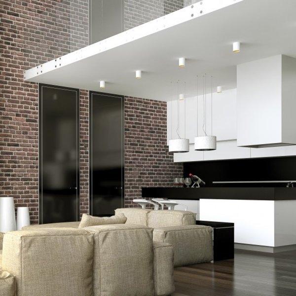 LED plafondspot Chloe - Mat wit goud - GU10 aansluiting