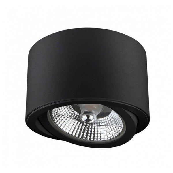 LED plafondspot - AR111 230V - Mat Zwart