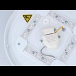 LED Plafonnière rond Wit - 12W vervangt 90W - Helder wit licht 4000K - 255x55mm