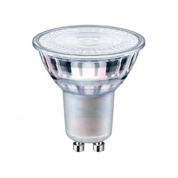 LCB LED spot GU10 - 1W - 2700K warm wit licht - vervangt 10W - Glazen behuizing - 38° lichtspreiding