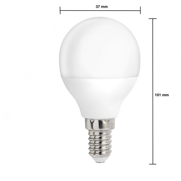 Voordeelpak 10 stuks - E14 LED lamp - 4W vervangt 30W - Lichtkleur optioneel