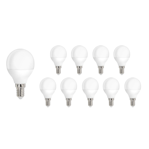 Voordeelpak 10 stuks - E14 LED lamp - 8W vervangt 60W - Lichtkleur optioneel