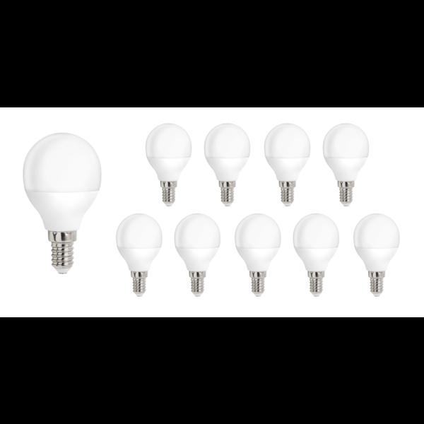 Voordeelpak 10 stuks - E14 LED lamp - 1W vervangt 10W - Lichtkleur optioneel