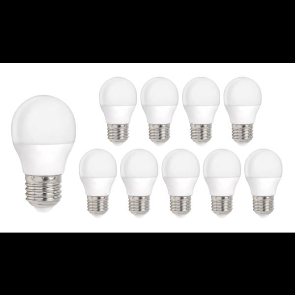 Voordeelpak 10 stuks - E27 LED lamp - 3W vervangt 25W - Lichtkleur optioneel