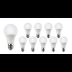 Voordeelpak 10 stuks - E27 LED lamp - 15W vervangt 120W - Lichtkleur optioneel